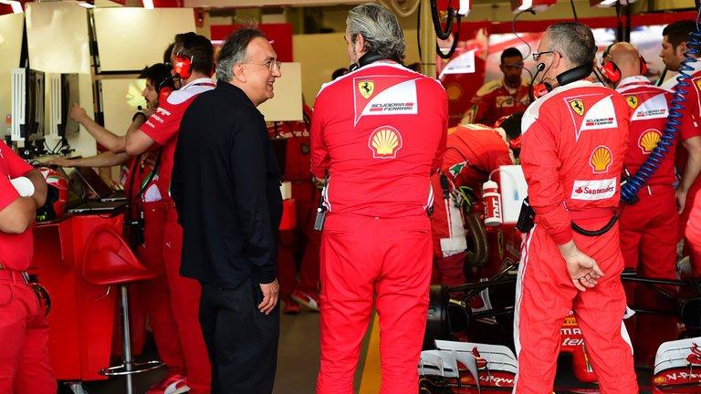Marchionne cauto ma deciso sulla Ferrari