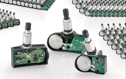 Continental Automotive: 200 milioni di sensori TPMS