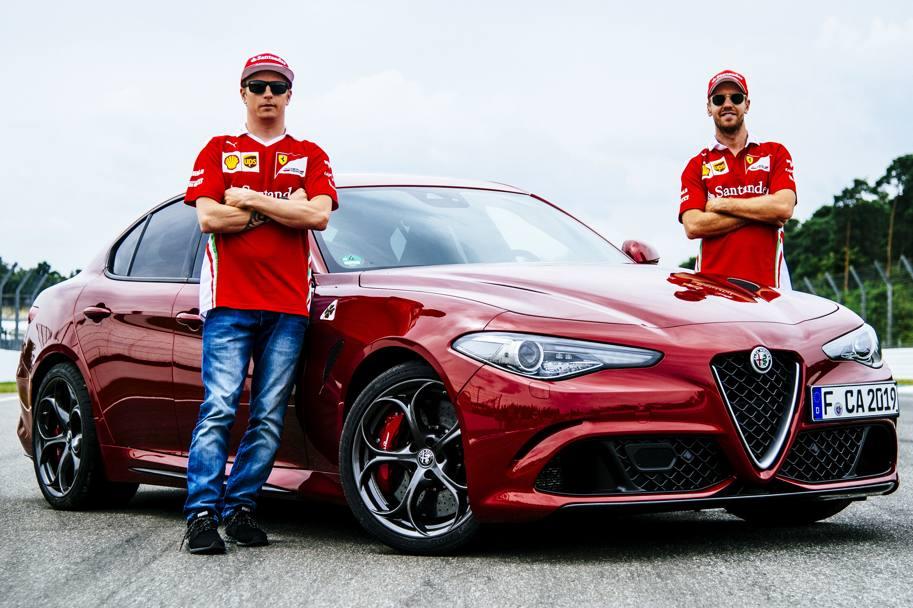 Incontro su Facebook con Vettel e Raikkonen