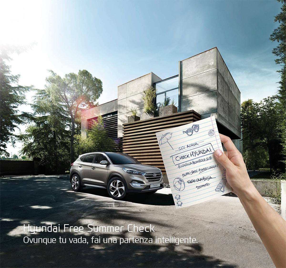 Hyundai Free Summer Check