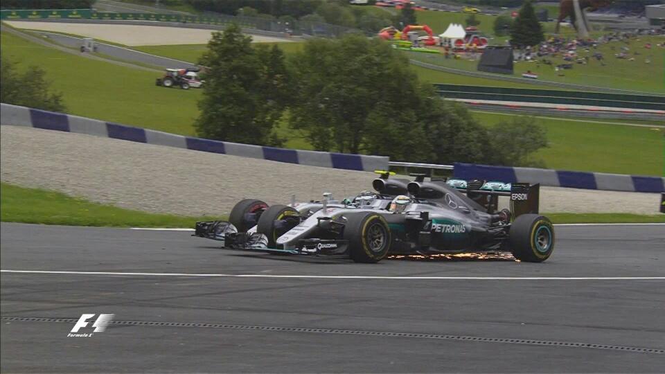 Austria: il GP dei botti. E Hamilton vince all'ultimo giro