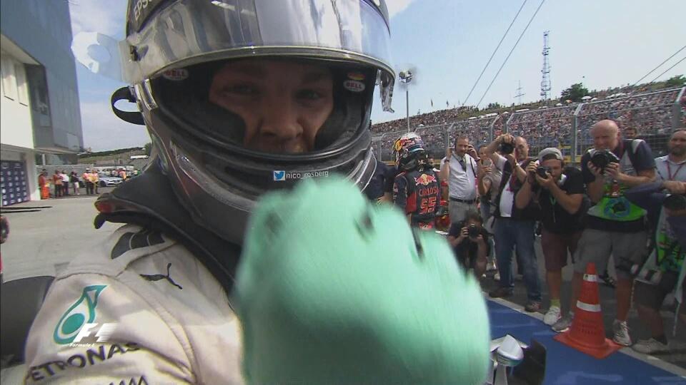 GP Ungheria: Rosberg soffia la pole a Hamilton