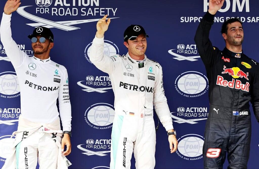 GP Ungheria: per la FIA Rosberg ha rallentato, pole confermata