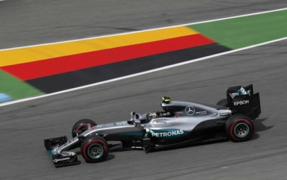 GP Germania: pole di Rosberg. Poi Hamilton, RBR e Ferrari