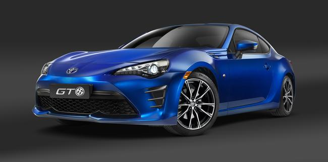 Nuova Toyota GT86 Model Year 2017