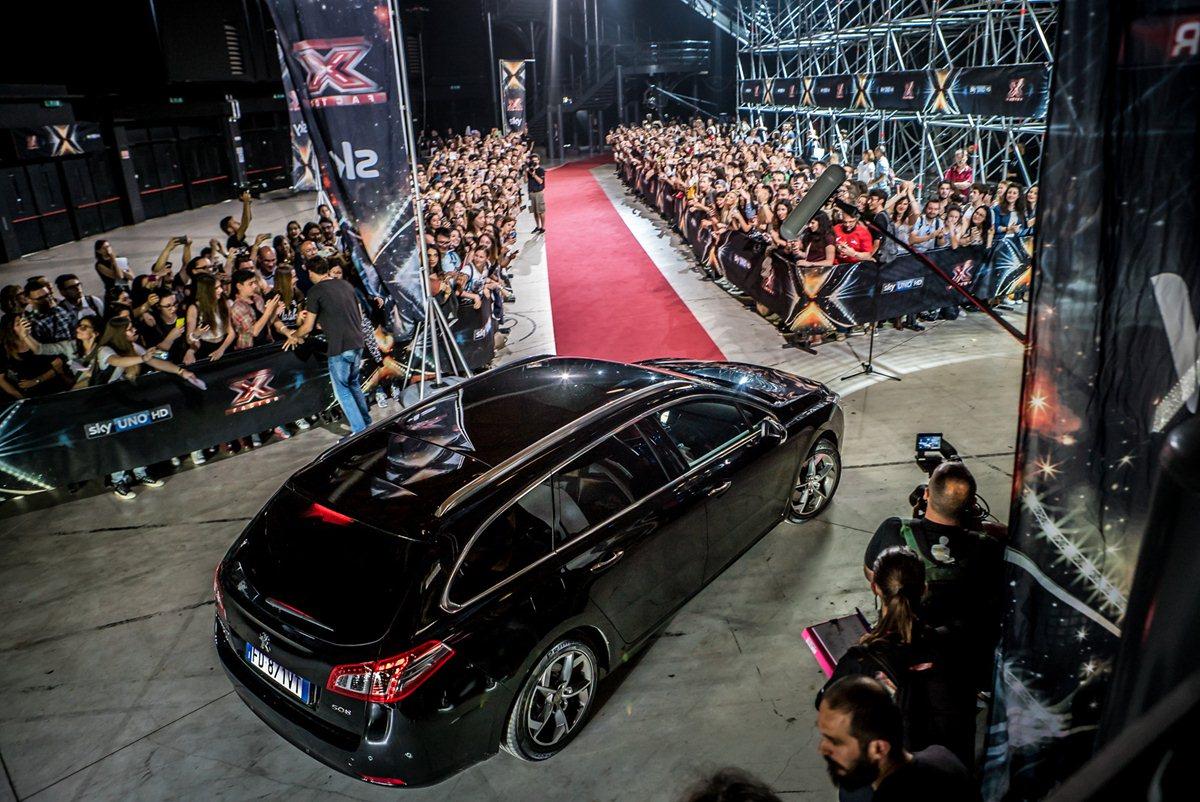 X Factor 2016 e Peugeot a caccia di talenti