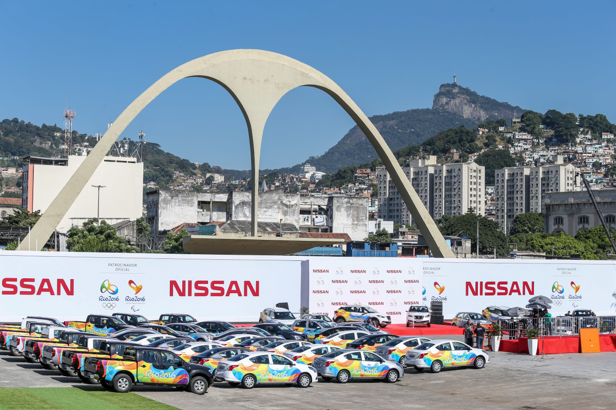 Nissan per i Giochi Olimpici e Paraolimpici 2016