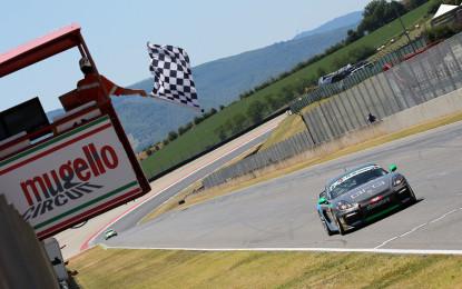 Cayman GT4 Trophy Italia: il weekend al Mugello