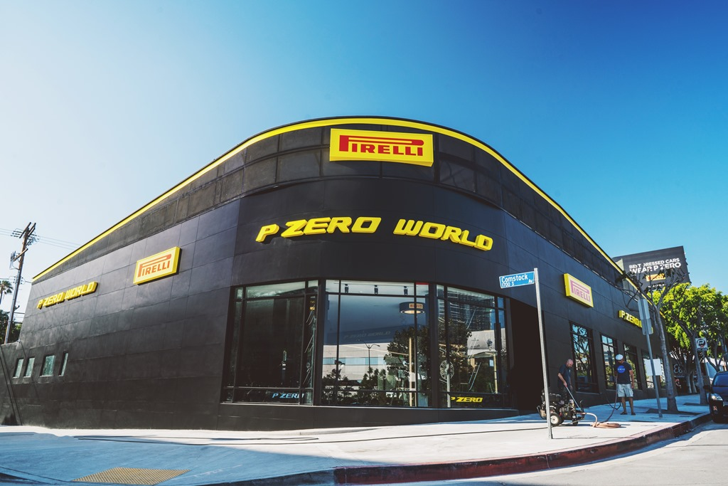 Pirelli inaugura P Zero World a Los Angeles