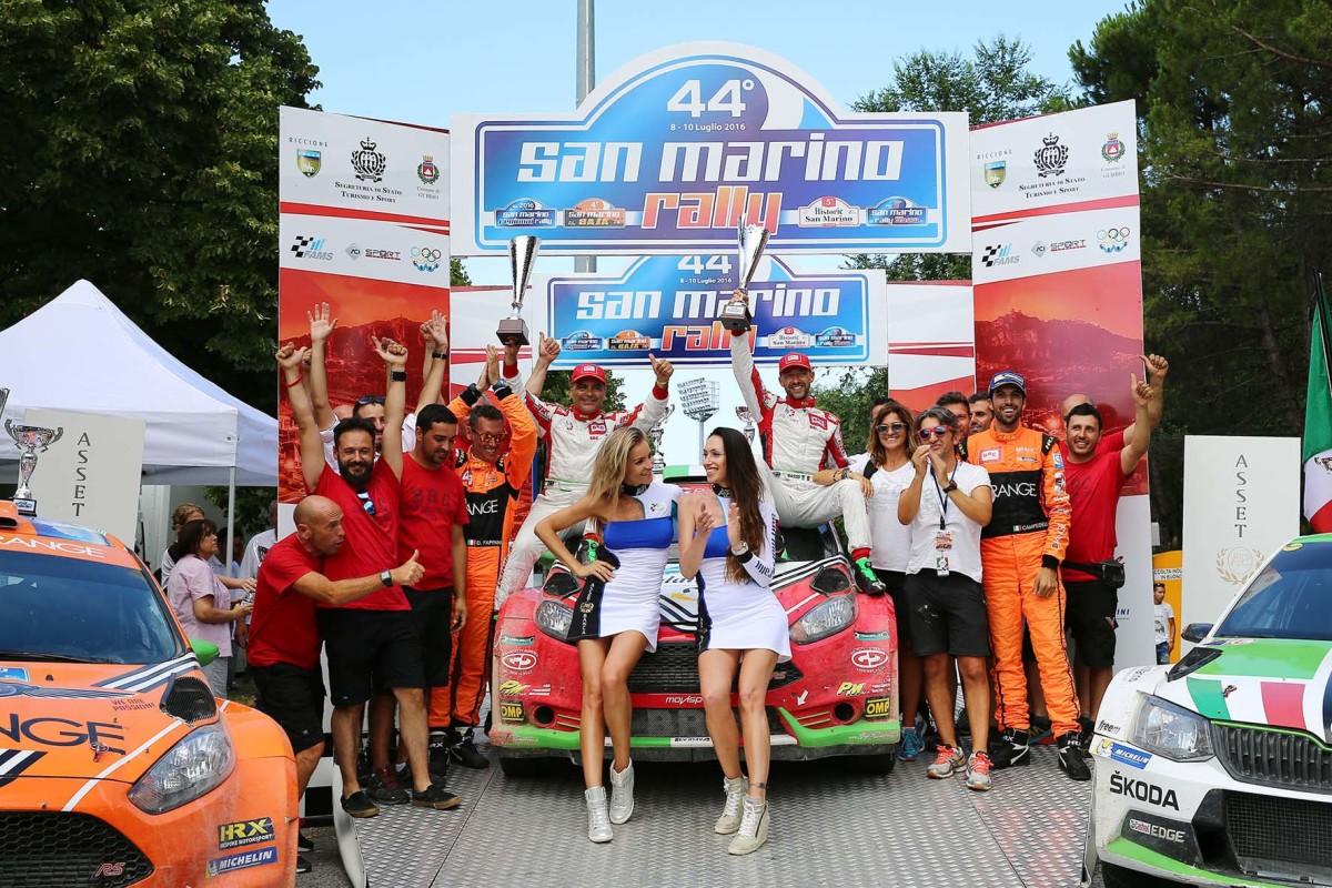 BRC conquista il 44° Rally di San Marino
