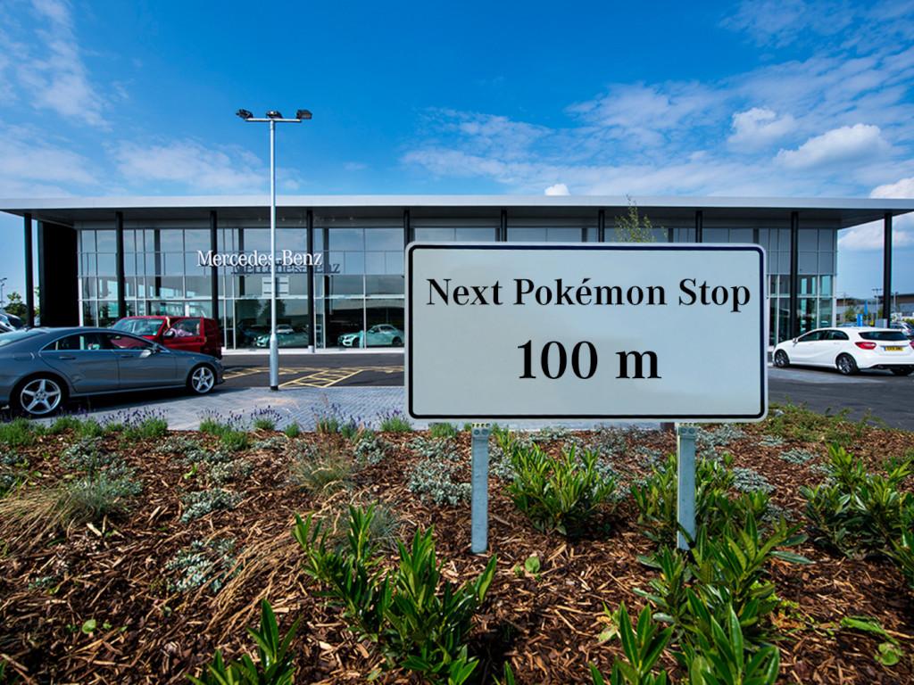 Mercedes-Benz e il fenomeno Pokémon GO