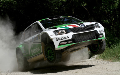 Rally San Marino: Scandola e Skoda sul podio in Gara 1