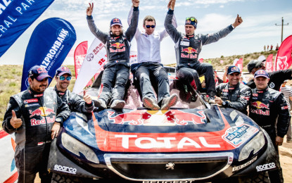 La Peugeot 2008 DKR vince il Silk Way Rally