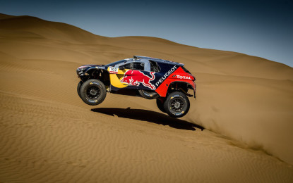 Silk Way Rally: podio tutto Peugeot nella tappa 9