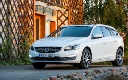 Volvo V60 Diesel Plug-in Hybrid nella flotta Avis