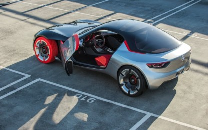 Automotive Brand alla Opel GT Concept