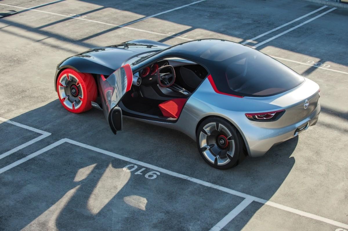 Automotive Brand alla Opel GT Concept