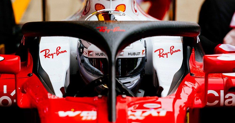 Gran Bretagna: nelle FP1 la Ferrari prova halo2