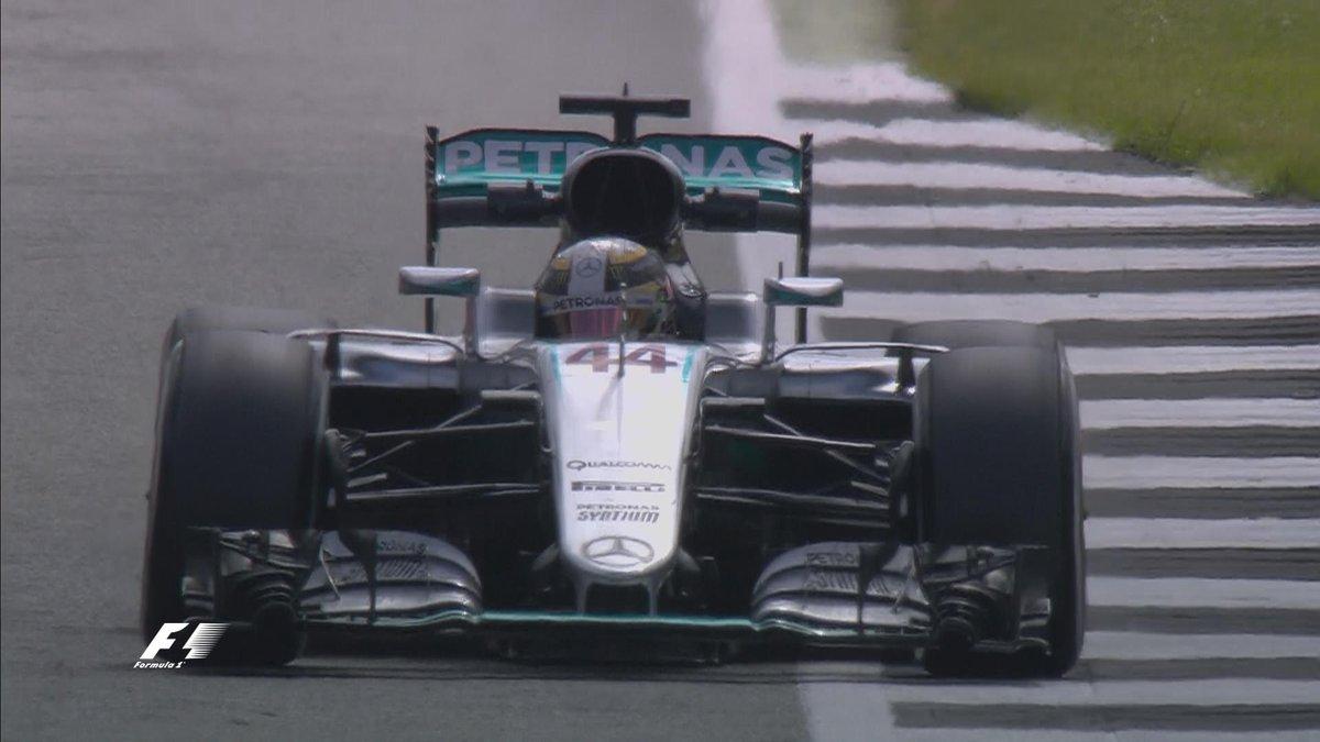 GP Gran Bretagna: Hamilton anche nelle FP2, problemi per Rosberg