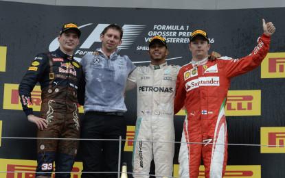 GP Austria: il punto Pirelli sulla gara e sul problema di Vettel