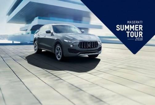 Maserati protagonista dell'estate
