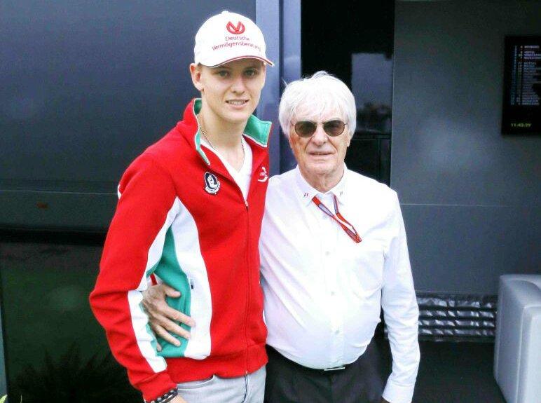 Mick Schumacher's next step is F3, not F1