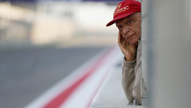 Trapianto polmonare per Niki Lauda