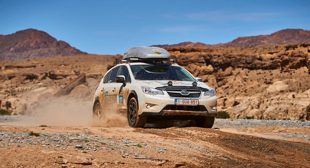 Subaru e Offtrax Maroc Challenge 2016