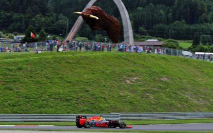 GP Austria: set scelti dai piloti