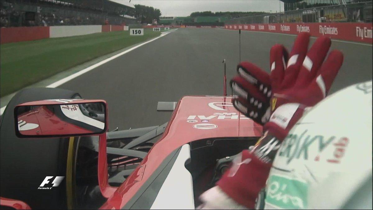 Gran Bretagna: FP3 a Hamilton, incidente Ericsson, problemi Vettel