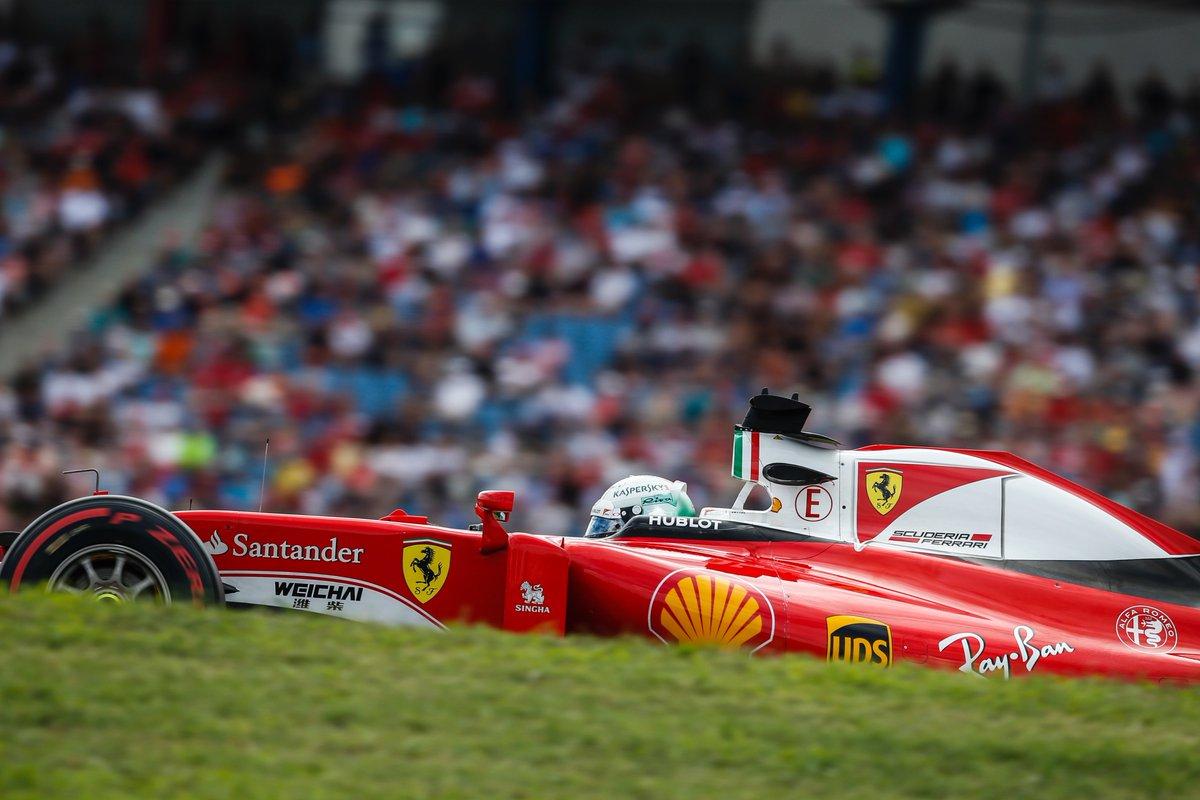 GP Germania: il bicchiere mezzo pieno della Ferrari