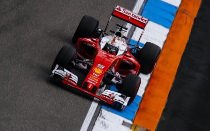 GP Germania: Ferrari ancora 3° nelle FP2