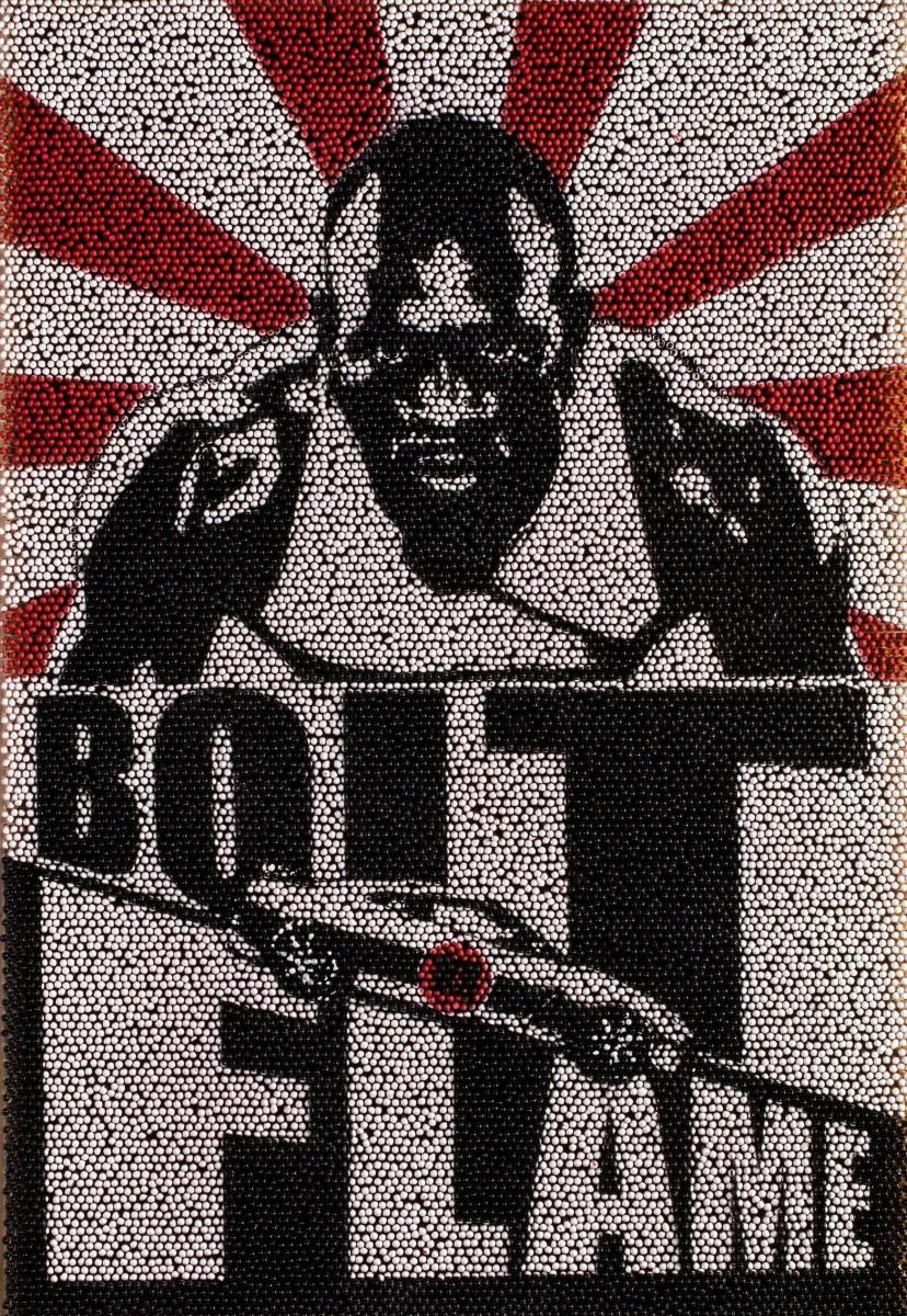 Nissan sfida Usain Bolt a competere col fuoco