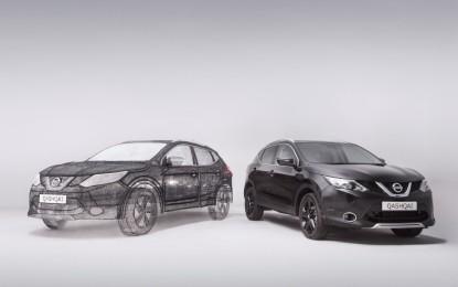 Nissan Qashqai Black Edition con penna 3D