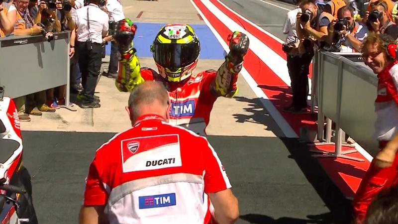 Iannone e Ducati: vittoria storica in Austria