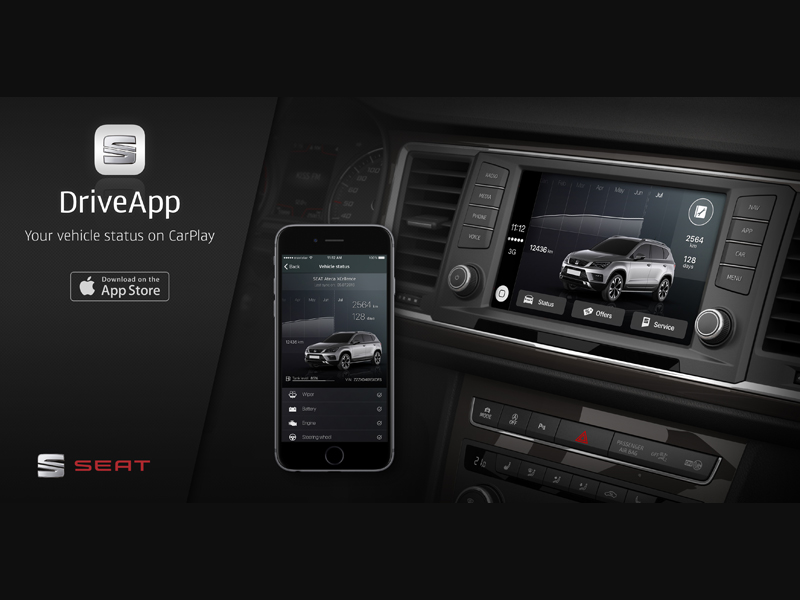 SEAT prima Casa con CarPlay App per iPhone nell'App Store