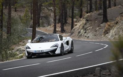 McLaren ritorna a Pebble Beach