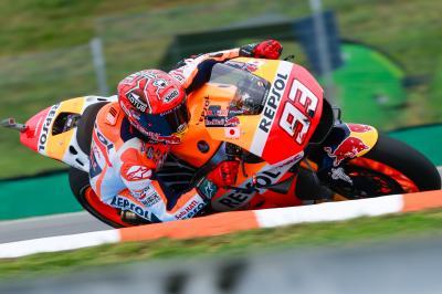 MotoGP: il venerdì in Repubblica Ceca è di Marquez