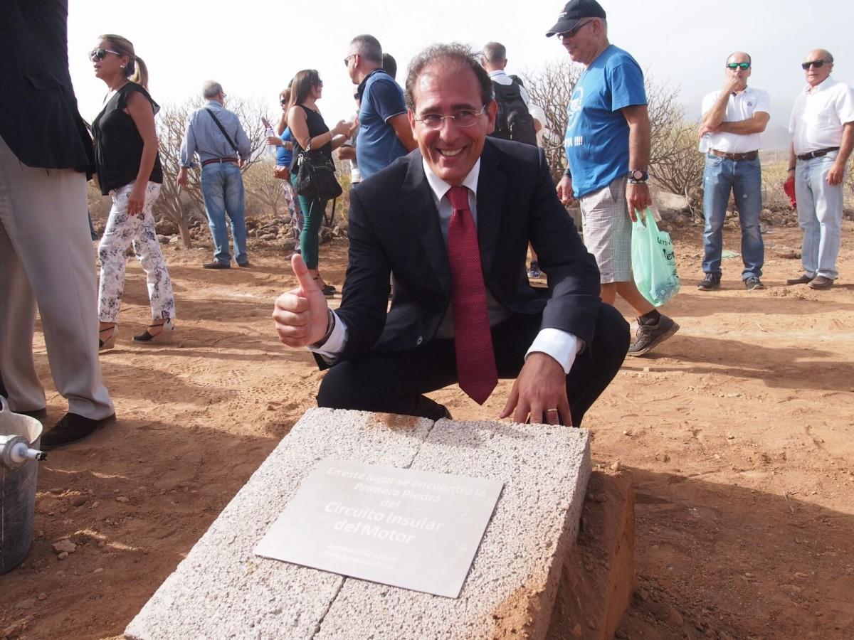 Circuito del Motor de Tenerife: la prima pietra