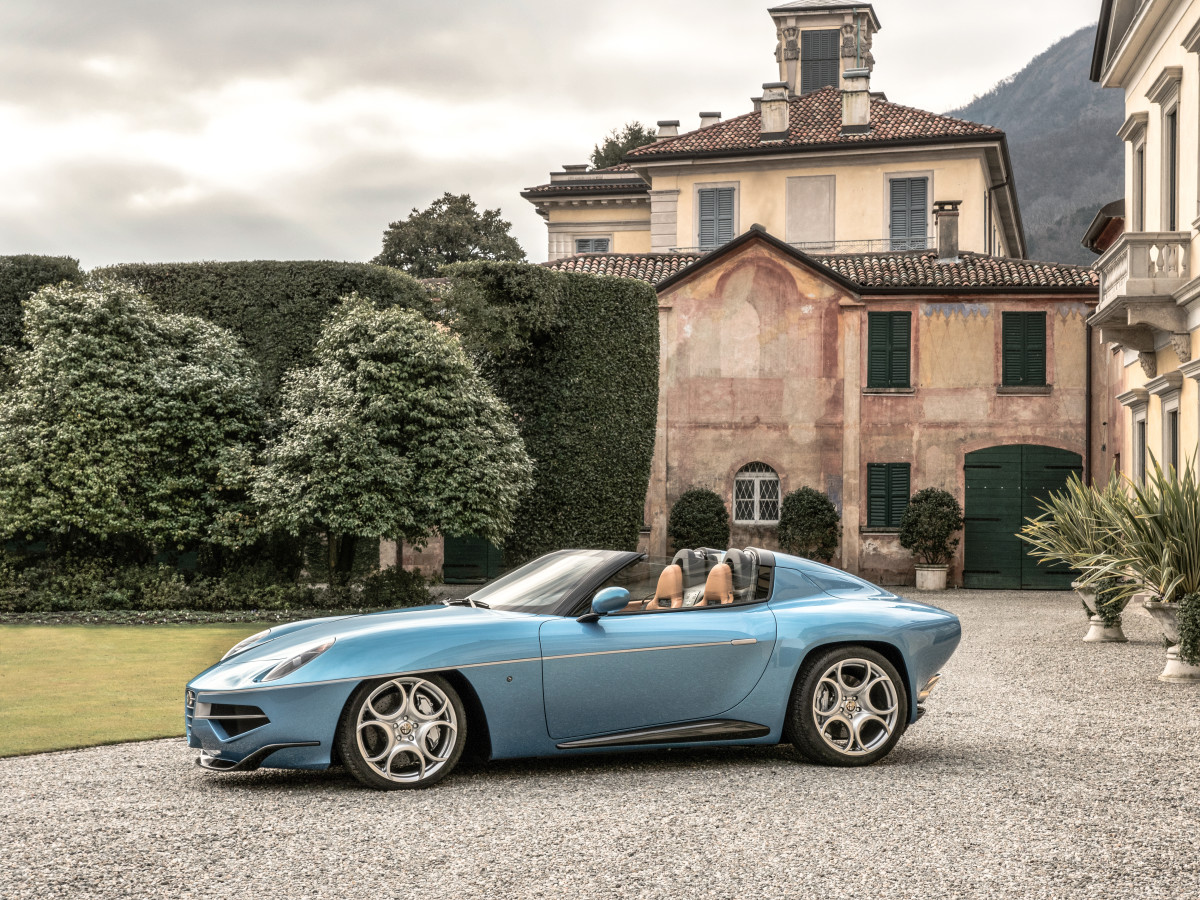 Disco Volante Spyder by Touring a Windsor