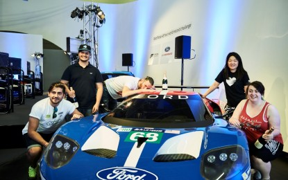 Cinque gamer con la Ford GT in Forza Motorsport 6