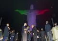 Pirelli illumina con il Tricolore il Cristo del Corcovado
