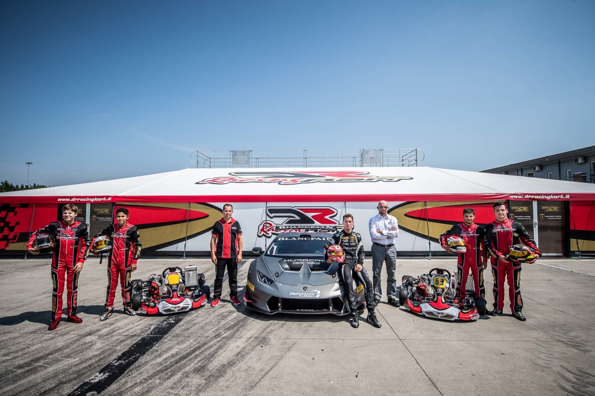 Lamborghini Squadra Corse e il Kart Drivers Program