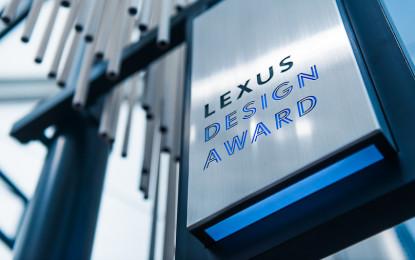 Lexus Design Award: via alle iscrizioni