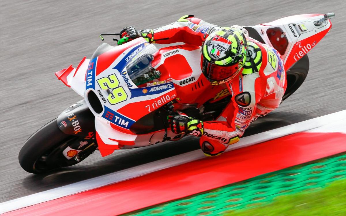 Austria: prima fila tutta italiana con Iannone, Rossi e Dovizioso