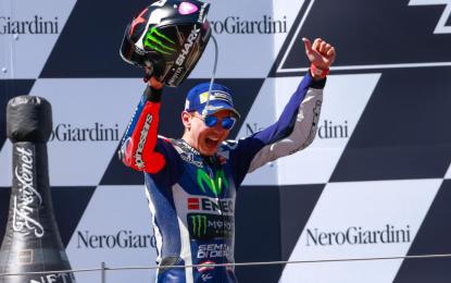 """Lorenzo: """"Un podio importante"""""""