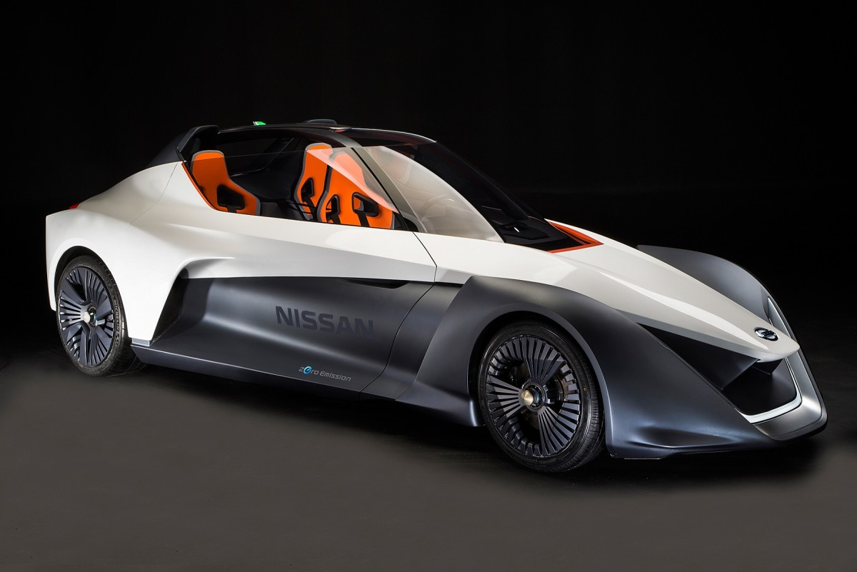 Nissan svela il prototipo BladeGlider