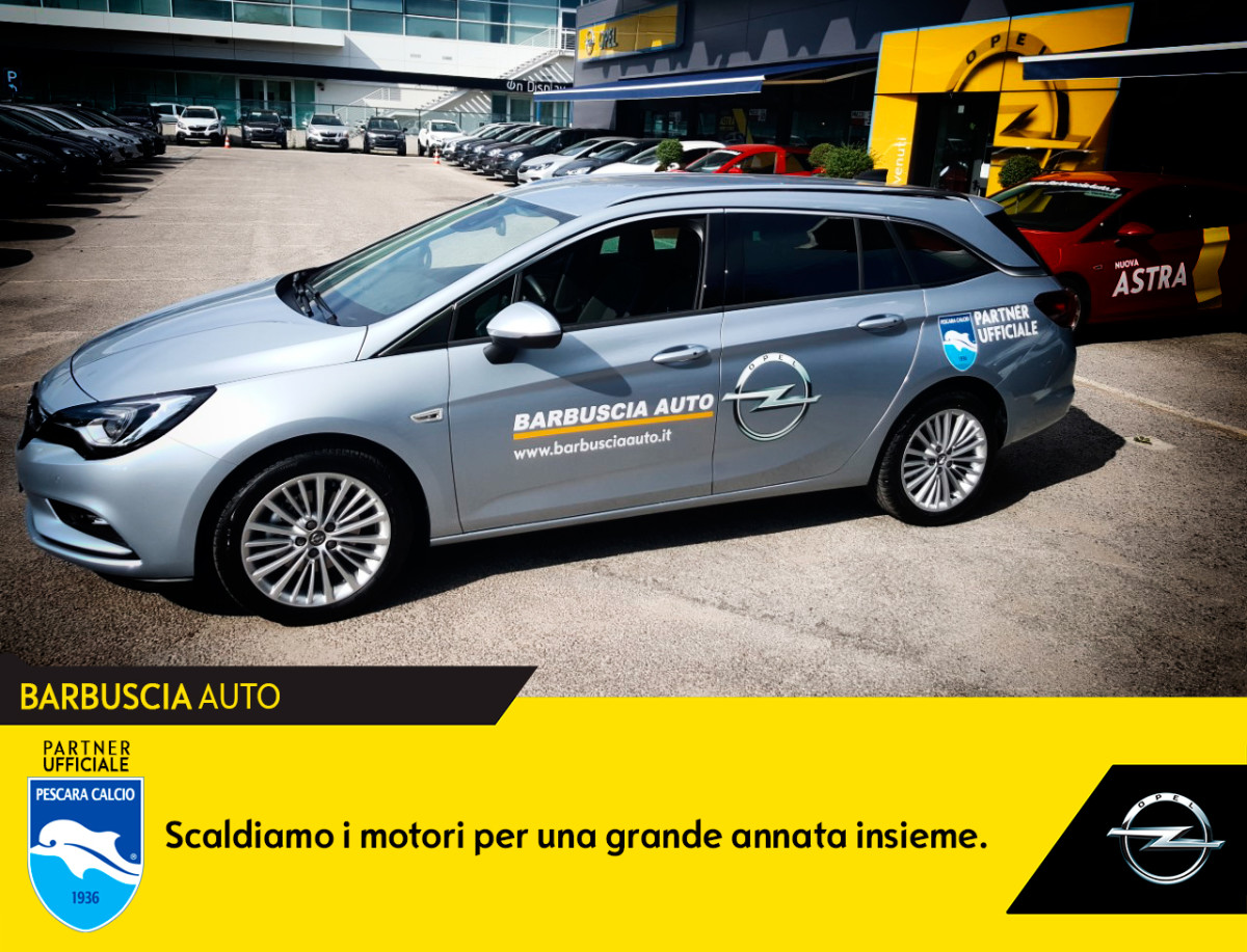 Opel fornitore ufficiale del Pescara