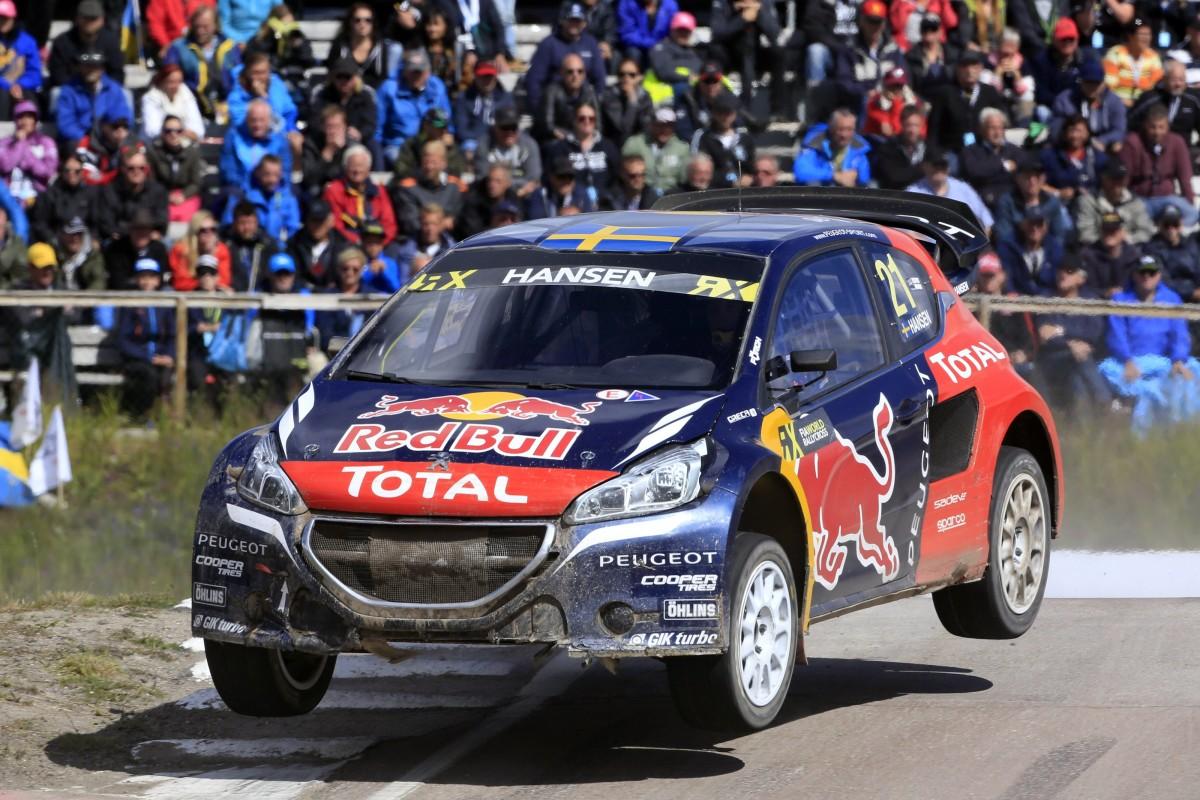 Rallycross: Loeb, Hansen e 208 WRX pronti per il Canada