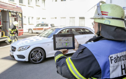 Mercedes-Benz Rescue Assist App